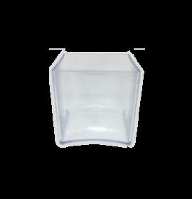 15C Clear Cube | Dishes | Andrew Plastics