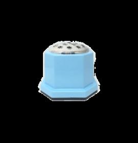 Plain Blue Memory Pot | Floral | Andrew Plastics